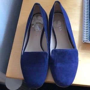 Reiss London Royal Blue Flats
